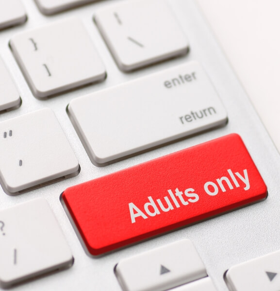 Adults only keyboard