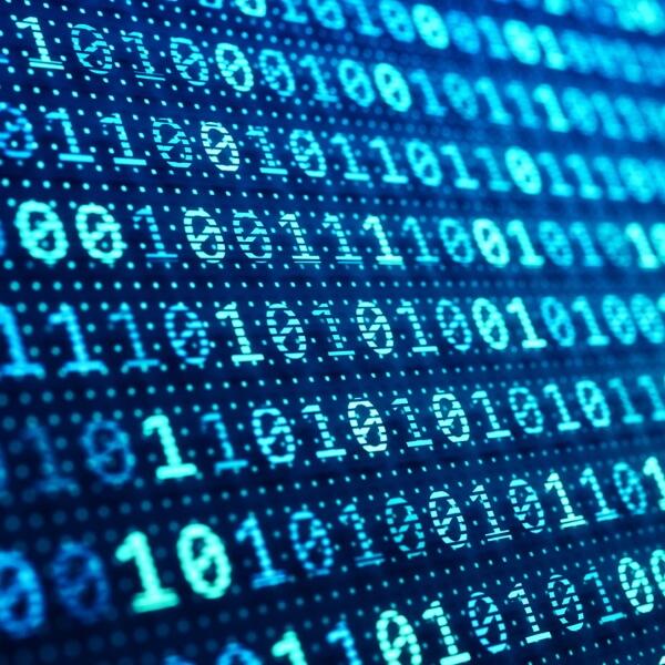 Binary data illustration