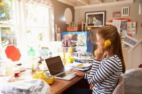 Woman working from home office - istock/monkeybusinessimages