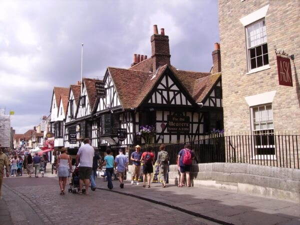 A street in Canterbury
