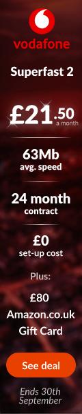 Vodafone £80 06.09.2021