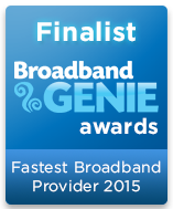 Broadband Genie Survey Finalist