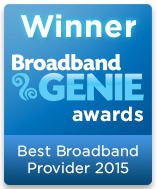 Broadband Genie Award Winner