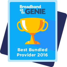 Best bundled provider 2016 award - Sky