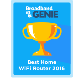 Best Router 2016 award - BT