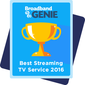 Best Streaming TV Service 2016 award - Netflix