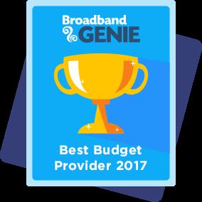 Best budget provider 2017 award - Origin