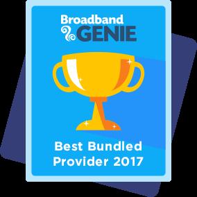 Best bundled provider 2017 award - Sky
