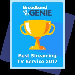 Best Streaming TV Service 2017 award - Netflix