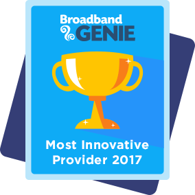 Most innovative provider 2017 award - Hyperoptic