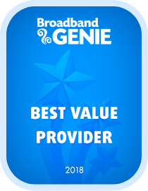 Best Value provider 2018 award - Vodafone