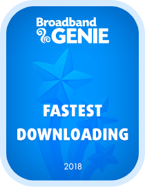 Fastest provider 2018 award - Virgin Media