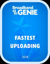 Fastest provider uploading 2018 award - Vodafone