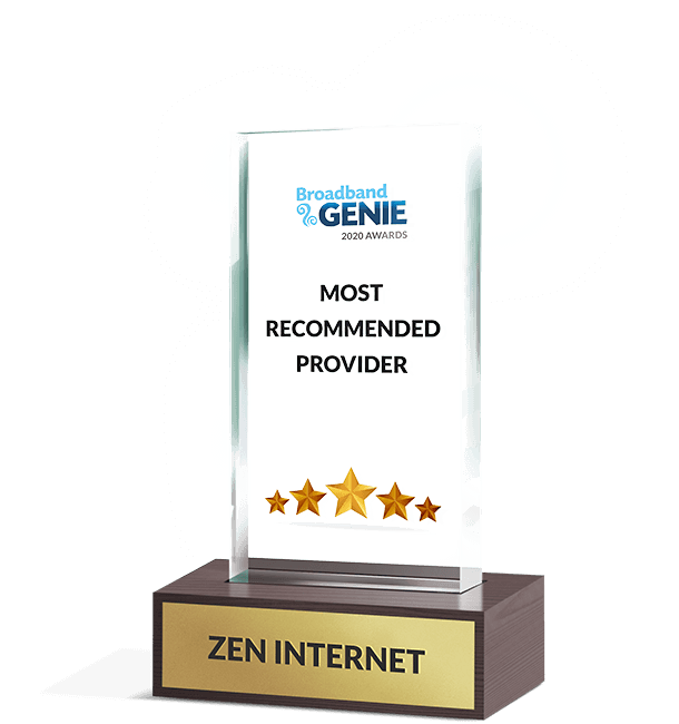 BBG Most Recommended Provider 2020