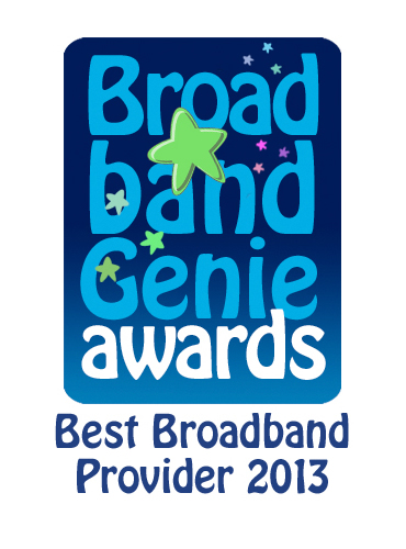 Best Broadband Provider Award 2013