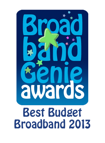 Best Budget Broadband Award 2013