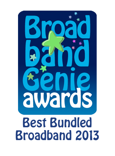Best Bundled Broadband Award 2013