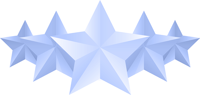 Illustration of 5 stars