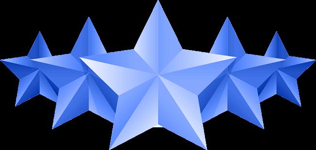 Illustration of 5 stars