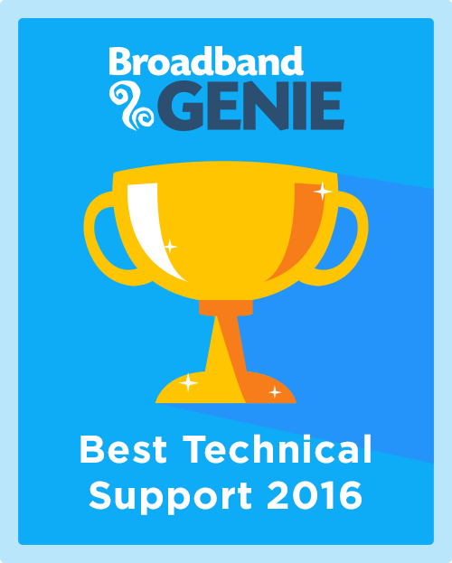 Best Technical Support 2016 graphic