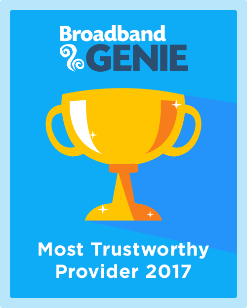 Most Trustworthy Provider 2017 graphic