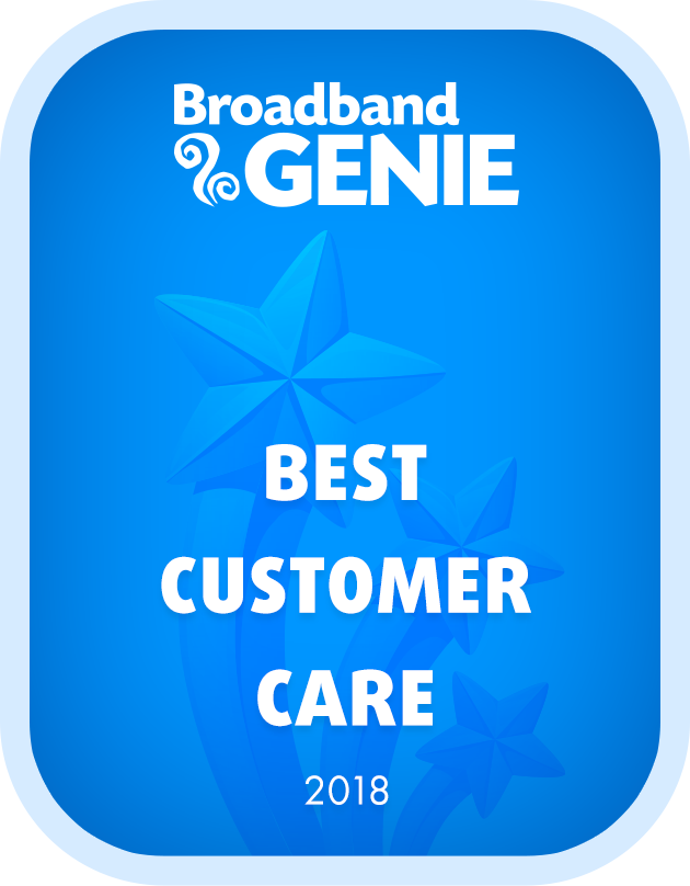 Best Customer Care 2018 graphic