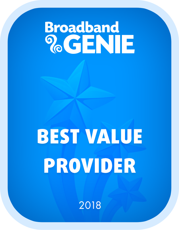 Best Value Provider 2018 graphic