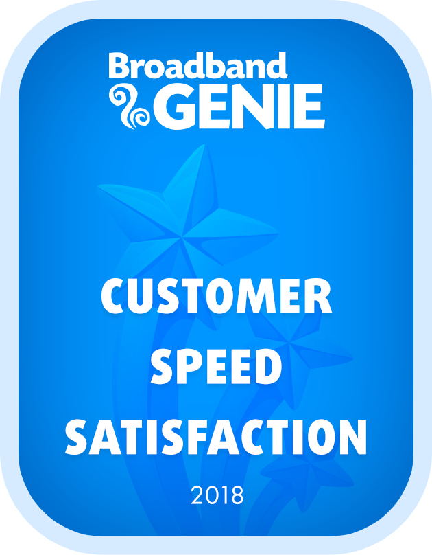 Customer Speed Satisfaction 2018 graphic