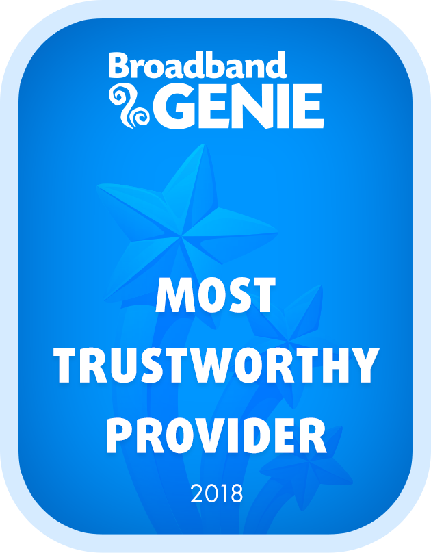 Most Trustworthy Provider 2018 graphic