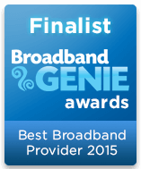 Best Broadband Provider Finalist 2015 graphic