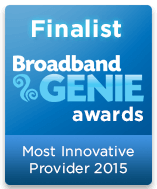 Most Innovative Provider Finalist 2015 graphic