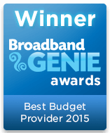 Best Budget Provider Winner 2015 graphic