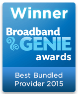 Best Bundled Provider Winner 2015 graphic